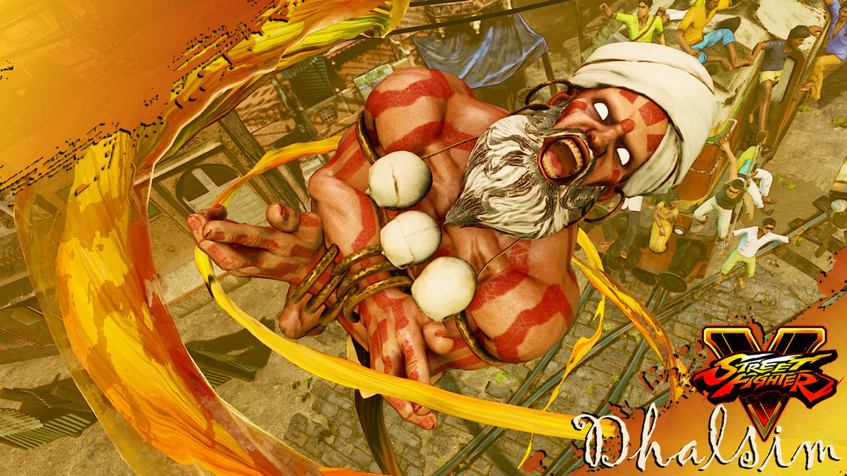 SFV Dhalsim Wallpaper by heyPierce