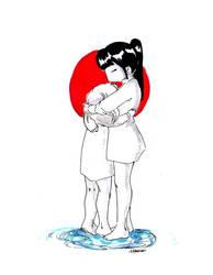 PRAY FOR JAPAN by Aiko-Katon