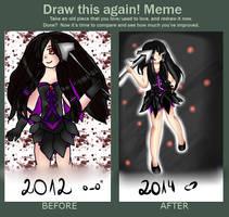 Draw this again Meme (By Liellia) by x3Lielliax3