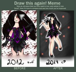 Draw this again Meme (By Liellia)