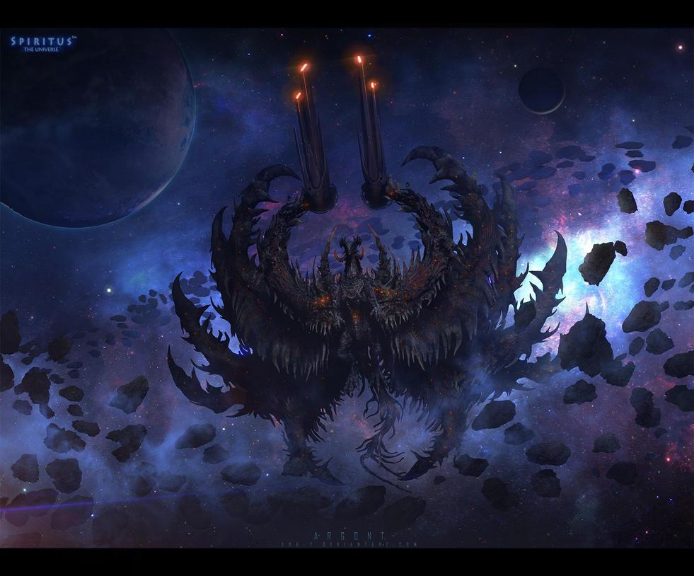 Философия в картинках - Страница 4 Space_dragon_argont_by_era_7-d7giq30