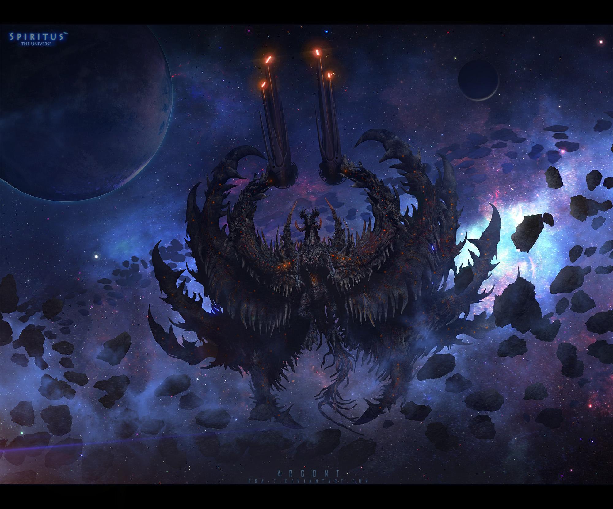 Space Dragon Argont by ERA-7