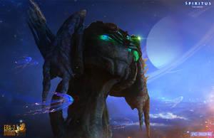 Space Dragon Max 2 by ERA-7