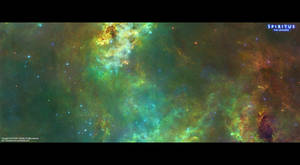 Epic Space: Green Nebula by ERA-7