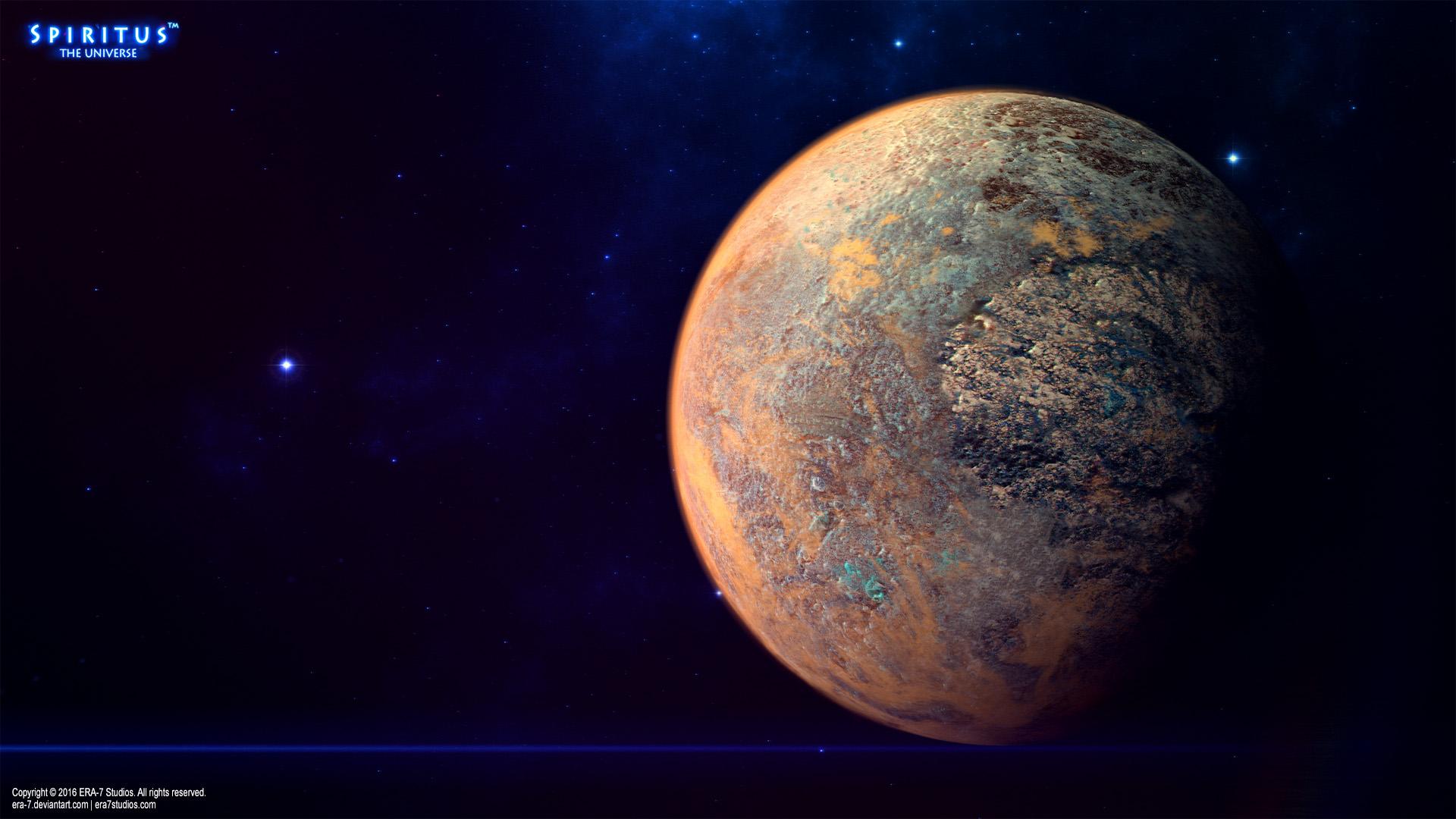 Alien World - Concept by ERA-7 on DeviantArt
