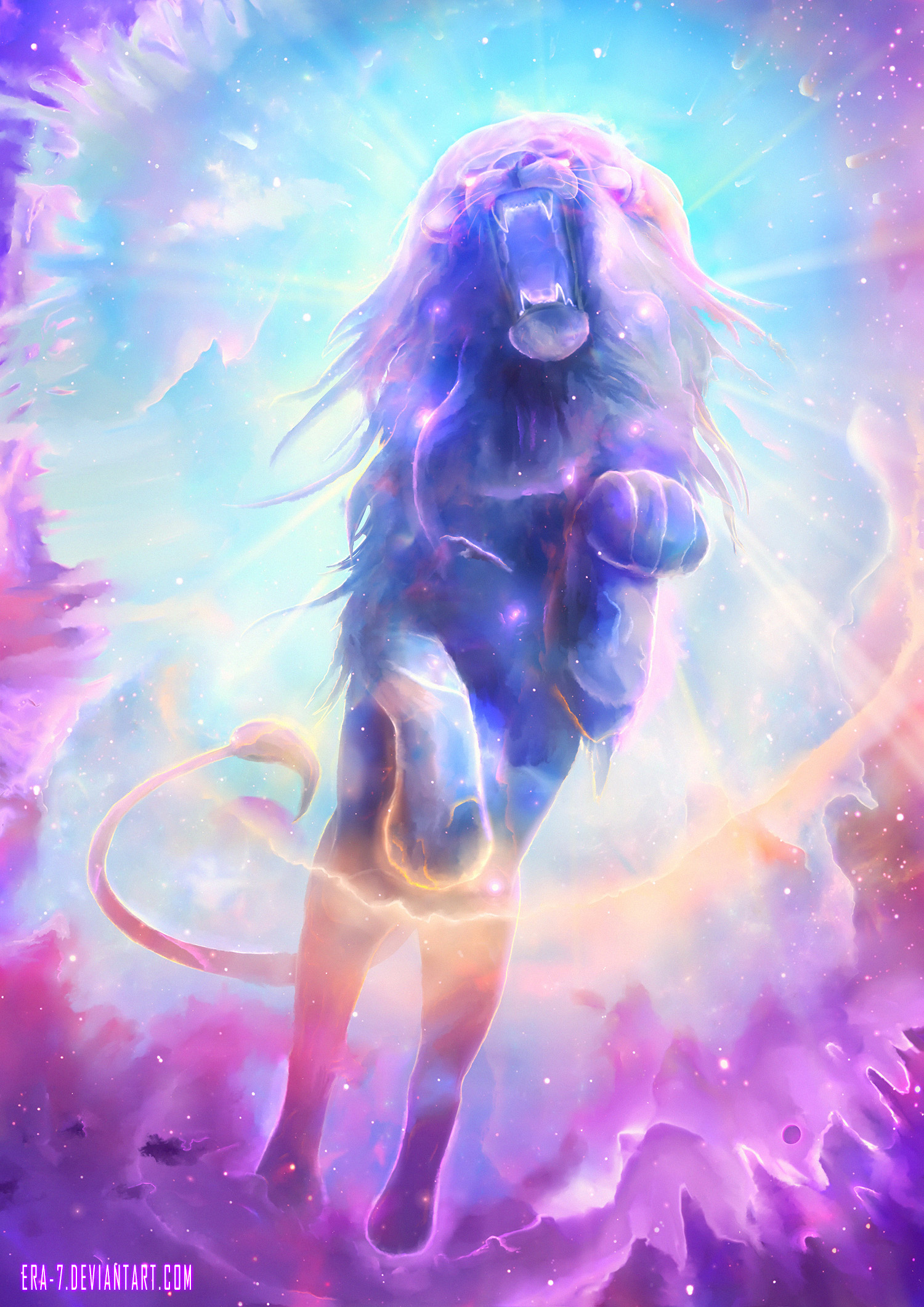 +White Lion King+ by ERA-7