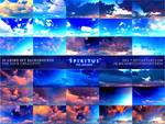 30 ANIME SKY BACKGROUNDS - PACK 18