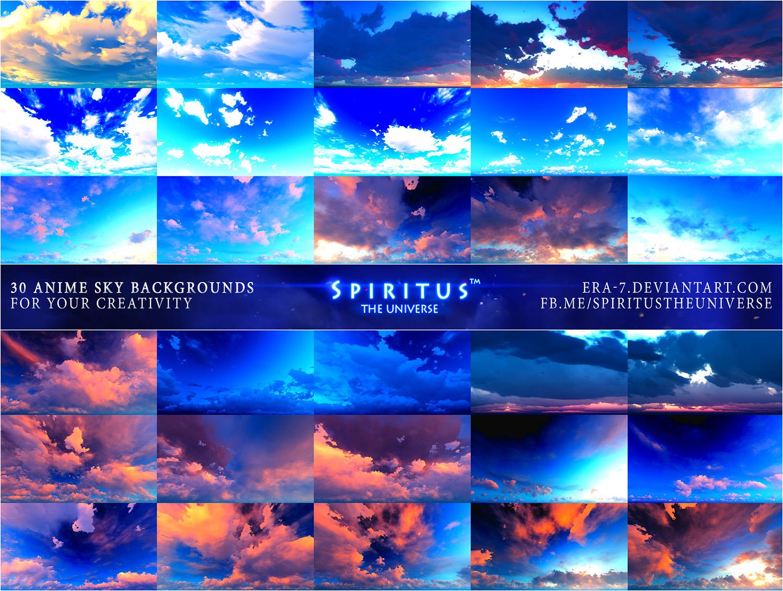 30 ANIME SKY BACKGROUNDS - PACK 18 by ERA-7 on DeviantArt