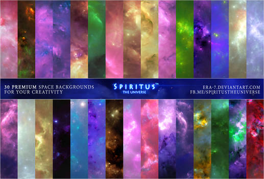 30 SPACE BACKGROUNDS - PACK 22