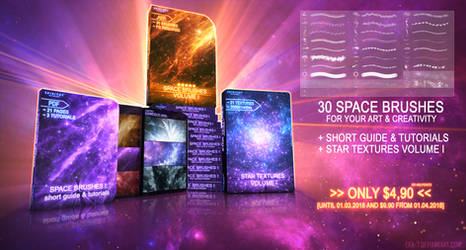 30 PREMIUM SPACE BRUSHES - VOLUME I by ERA-7