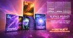 30 PREMIUM SPACE BRUSHES - VOLUME I