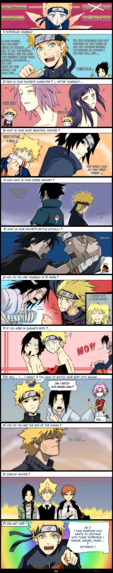 Naruto interview by kuro-mai
