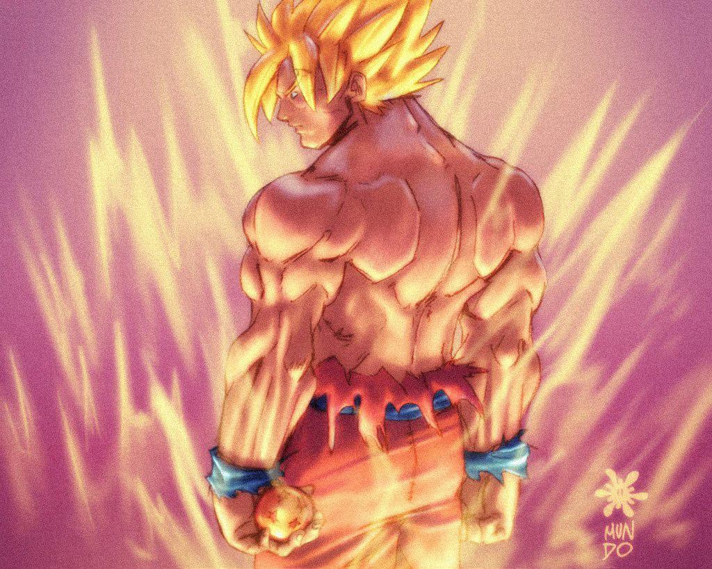 Goku super saiyan live by mundokk on deviantart - Super saiyan live wallpaper ...