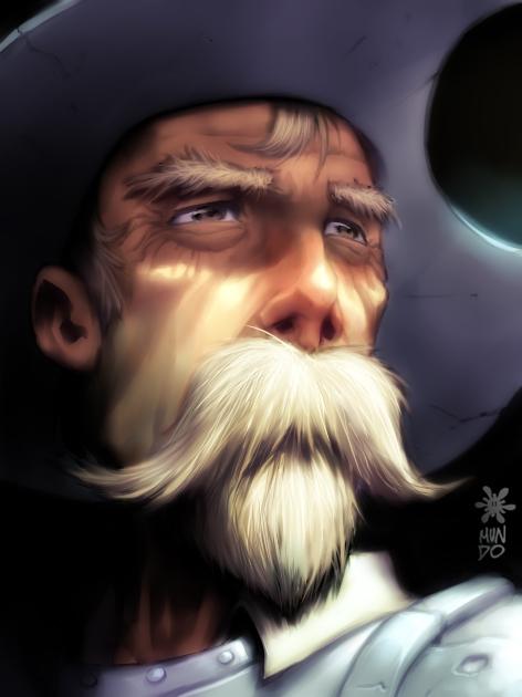 Don Quijote por Mundokk