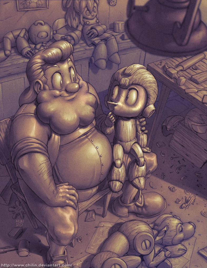 Megaman tribute by Mundokk