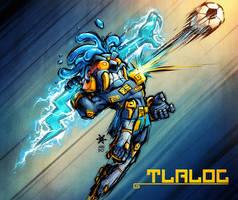 Tlaloc Soccer by Mundokk