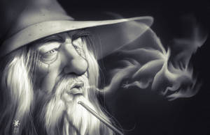 Gandalf and Smaug