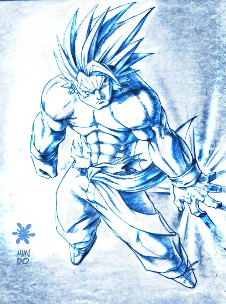 Goku Super Saiyan Level 1 By Mundokk On Deviantart