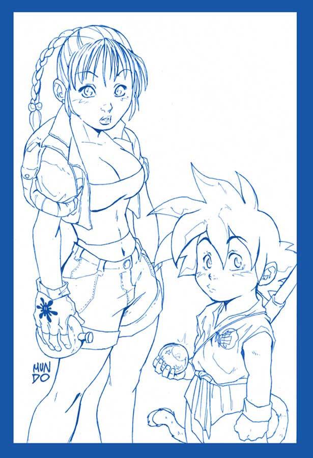 Bulma and goku by mundokk on deviantart - Goku e bulma a letto ...