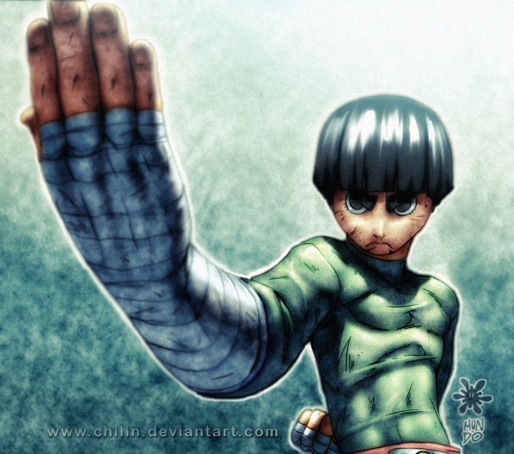 Beautiful Wallpaper Naruto Rock Lee - rock_lee_by_chilin  You Should Have_604516.jpg