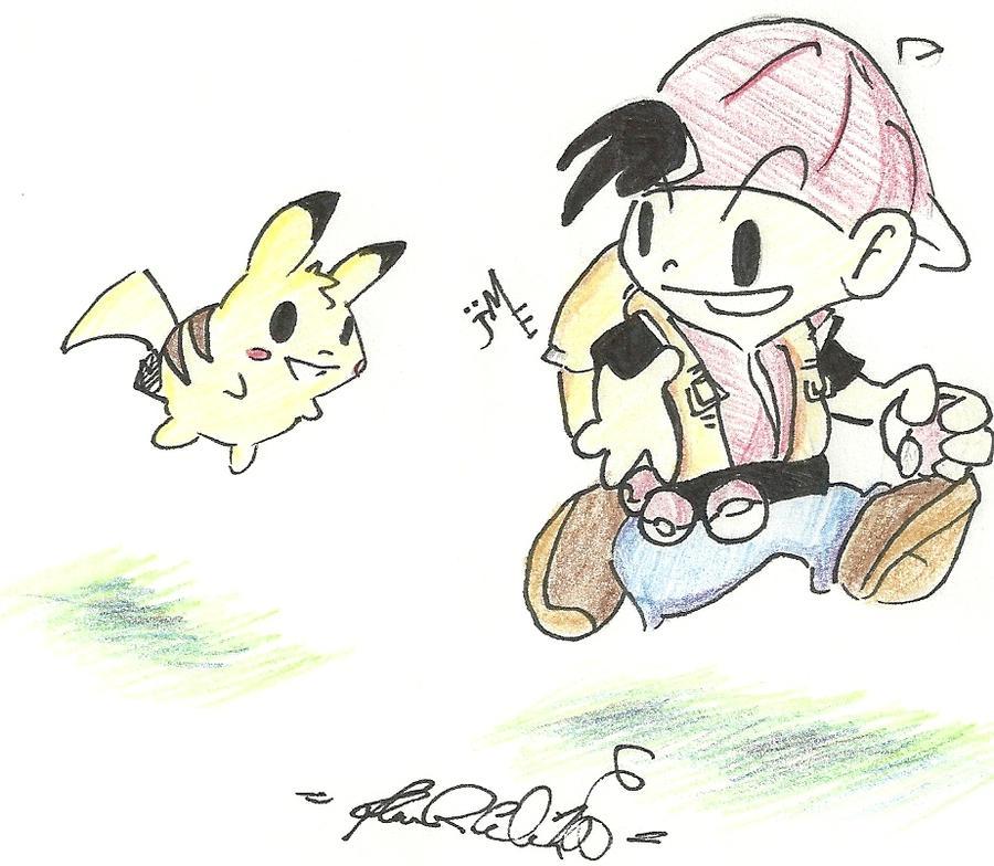 More Pokemon Fanart?! by cowboybebopmcgoo
