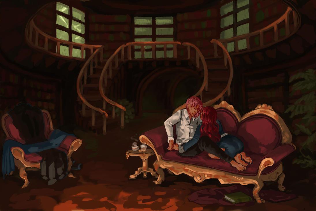 Florian and Poppy (2) by MaiNona