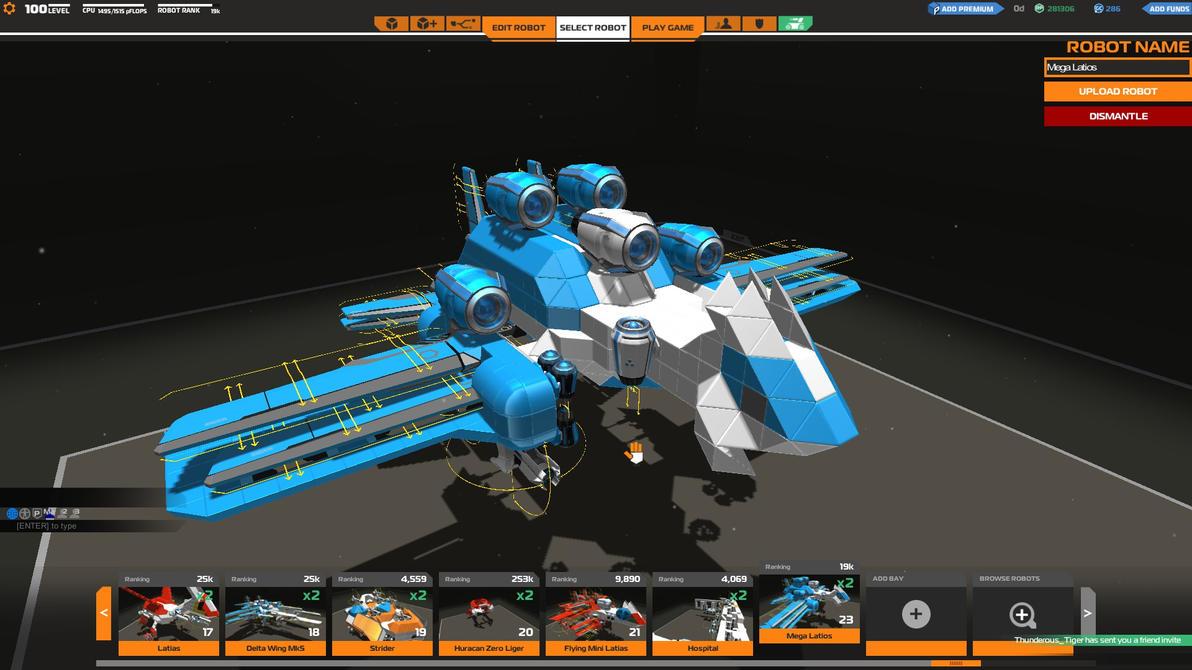 Robocraft: Mega Latios by Latios1056 on DeviantArt