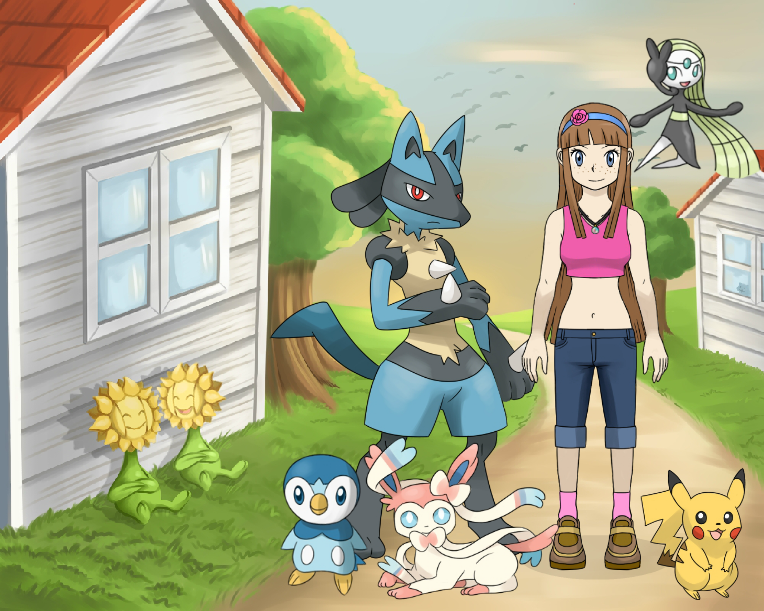 Pokemon Trainer Hannah by sonichannah
