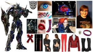 Hannah Alfrey Fused Soul with Optimus Prime