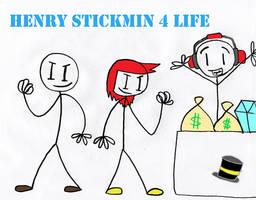 Henry Stickmin by creating-creator