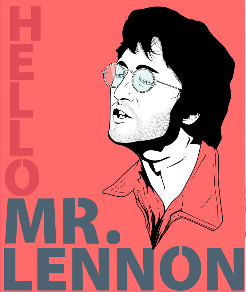 hello mr lennon by eyeinterruption