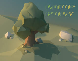 Low Poly Tree by GforGannon