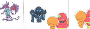Smash Bros Ultimate - Poor Samus by Grapezard