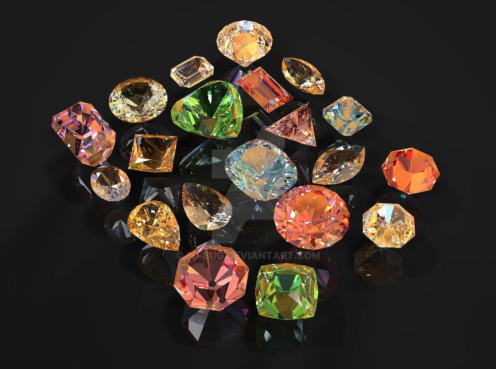Diamonds by 3D-BUG