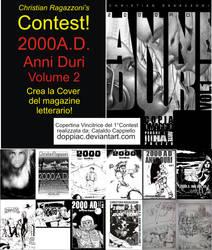 2000AD Volume2 Cover Contest by ChristianRagazzoni