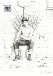 Game of Thrones: Andrea Pazienza (Dario) by ChristianRagazzoni