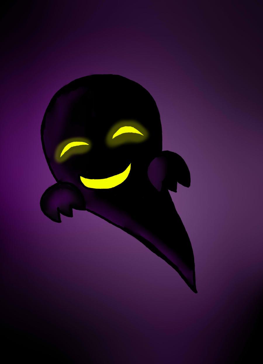 Pokemon Creepy Black - Ghost by RisaaSan on DeviantArt