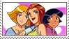 Totally Spies Stamp by AquaKitty89