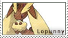 Lopunny Stamp by AquaKitty89