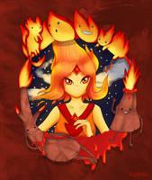 Flame Princess by Sokoya