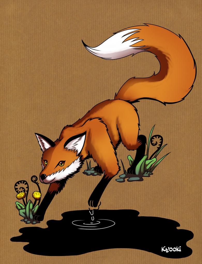 Draw Me A Fox by Sokoya
