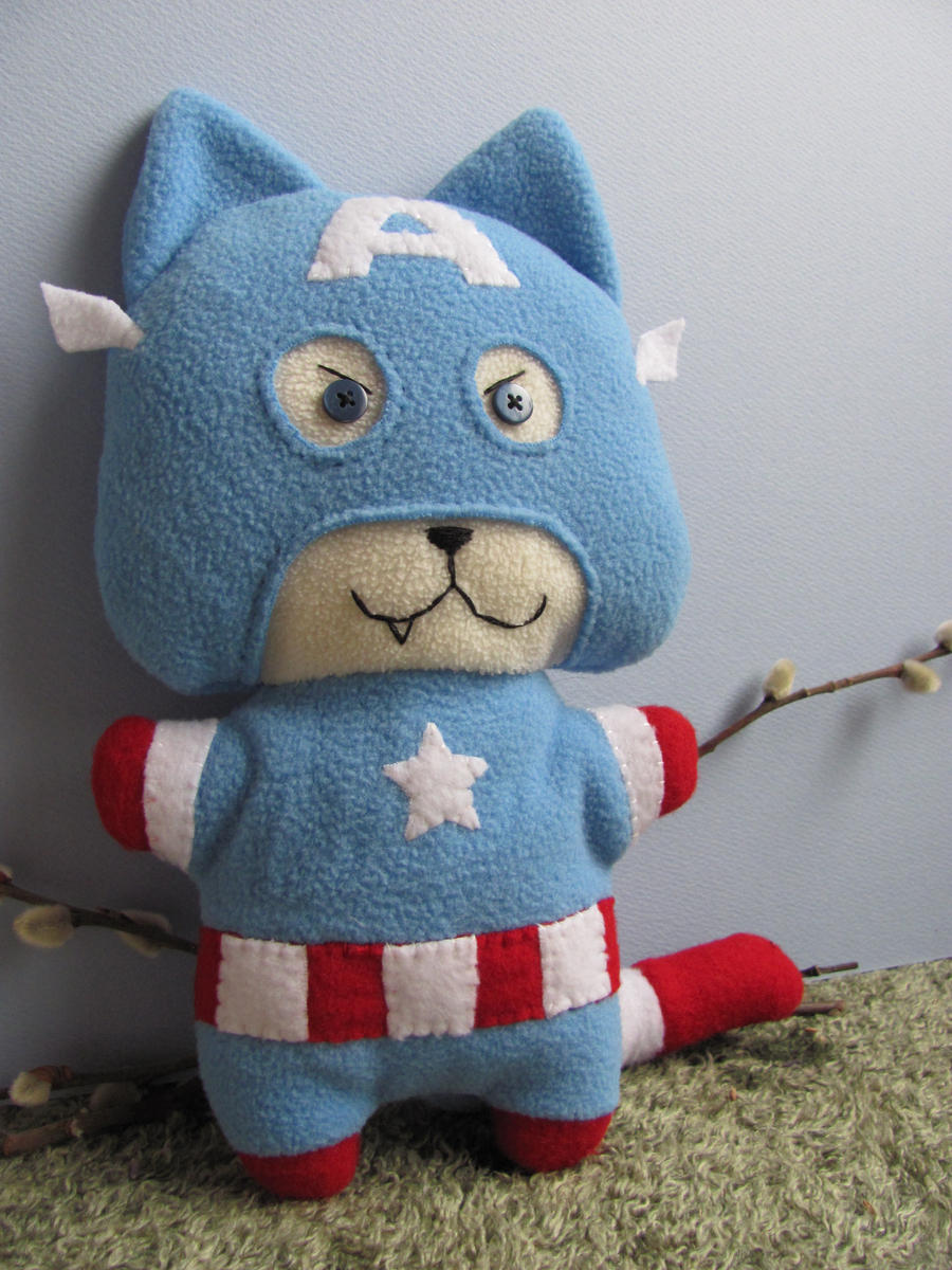 Captain Americat by mypetmoon