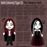 Goth Type 17: The Vampire Goth