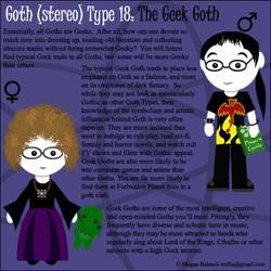 Goth Type 18: The Geek Goth