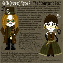 Goth Type 21: Steampunk Goth