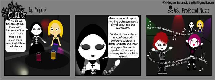 Gothic Grumbles Profound Music