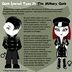 Goth Type 31: The Military Goth