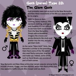 Goth Type 32: The Glam Goth