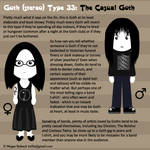 Goth Type 33: The Casual Goth