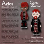 Goth Zodiac: Aries